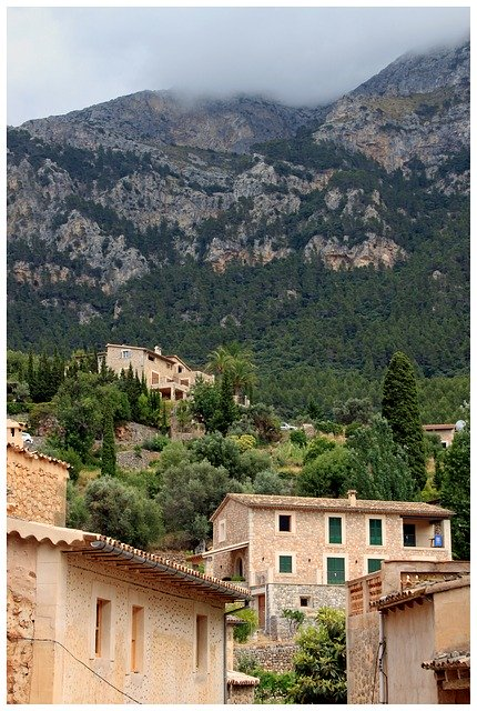 Village of Deia, Mallorca