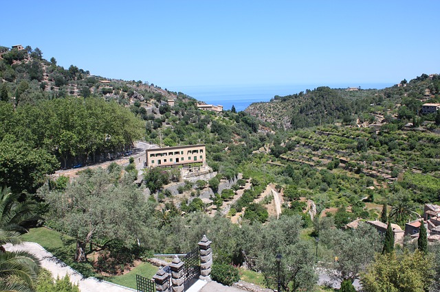 Deia Spain, landscape